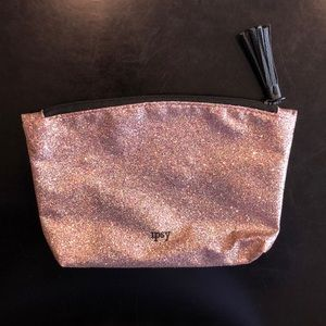 ipsy rainbow sparkly makeup bag